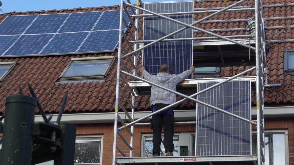 zonnepanelen doe het zelf